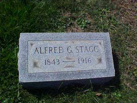 STAGG, ALFRED GOULD - Meigs County, Ohio | ALFRED GOULD STAGG - Ohio Gravestone Photos