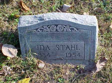 STAHL, IDA - Meigs County, Ohio | IDA STAHL - Ohio Gravestone Photos