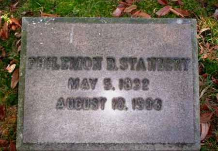 STANBERY, PHILEMON B. - Meigs County, Ohio   PHILEMON B. STANBERY - Ohio Gravestone Photos