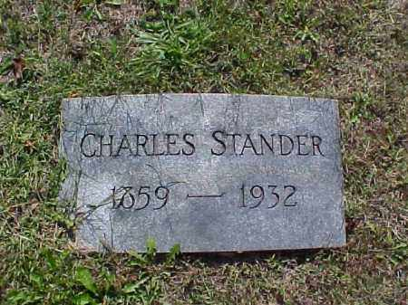 STANDER, CHARLES - Meigs County, Ohio | CHARLES STANDER - Ohio Gravestone Photos