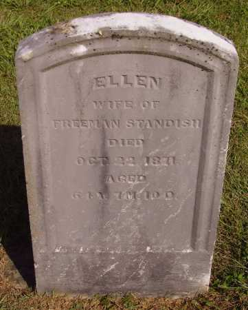 STANDISH, ELLEN - Meigs County, Ohio | ELLEN STANDISH - Ohio Gravestone Photos