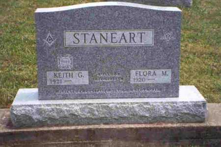 STANEART, FLORA MADELINE - Meigs County, Ohio | FLORA MADELINE STANEART - Ohio Gravestone Photos