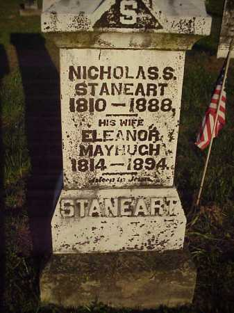 STANEART, NICHOLAS. S - Meigs County, Ohio | NICHOLAS. S STANEART - Ohio Gravestone Photos