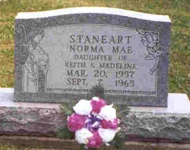 STANEART, NORMA MAE - Meigs County, Ohio | NORMA MAE STANEART - Ohio Gravestone Photos