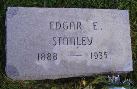 STANLEY, EDGAR E - Meigs County, Ohio | EDGAR E STANLEY - Ohio Gravestone Photos