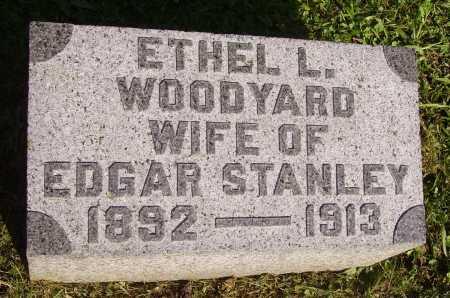 WOODYARD STANLEY, ETHEL L. - Meigs County, Ohio | ETHEL L. WOODYARD STANLEY - Ohio Gravestone Photos