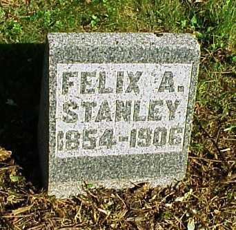 STANLEY, FELIX A. - Meigs County, Ohio | FELIX A. STANLEY - Ohio Gravestone Photos