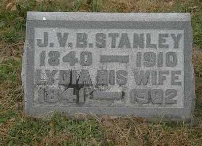STANLEY, J.V.B. - Meigs County, Ohio | J.V.B. STANLEY - Ohio Gravestone Photos