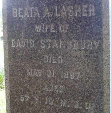 STANSBURY, BEATA A. - CLOSEVIEW - Meigs County, Ohio | BEATA A. - CLOSEVIEW STANSBURY - Ohio Gravestone Photos