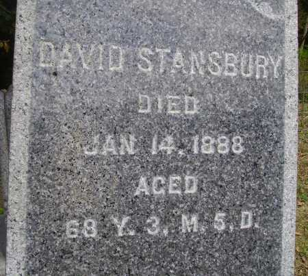 STANSBURY, DAVID - CLOSEVIEW - Meigs County, Ohio | DAVID - CLOSEVIEW STANSBURY - Ohio Gravestone Photos