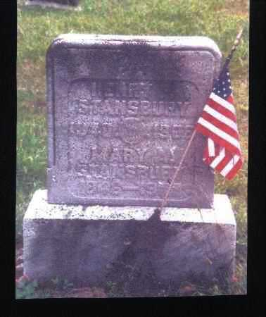 STANSBURY, MARY A. - Meigs County, Ohio | MARY A. STANSBURY - Ohio Gravestone Photos