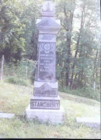 STANSBURY, JOHN MELZER - Meigs County, Ohio | JOHN MELZER STANSBURY - Ohio Gravestone Photos