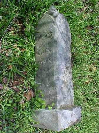 STARK, BARBARA - Meigs County, Ohio | BARBARA STARK - Ohio Gravestone Photos