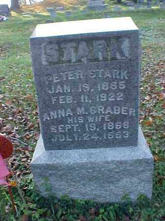 STARK, PETER - Meigs County, Ohio | PETER STARK - Ohio Gravestone Photos