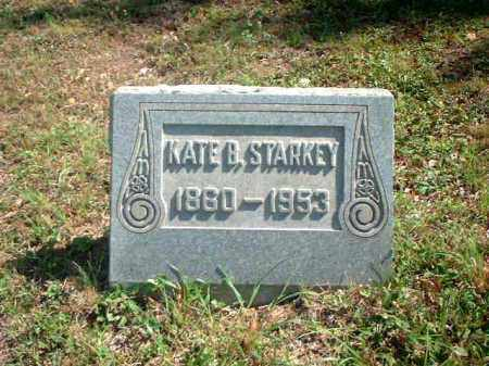 STARKEY, KATE B. - Meigs County, Ohio | KATE B. STARKEY - Ohio Gravestone Photos