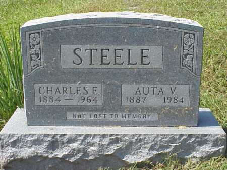 STEELE, CHARLES E. - Meigs County, Ohio | CHARLES E. STEELE - Ohio Gravestone Photos
