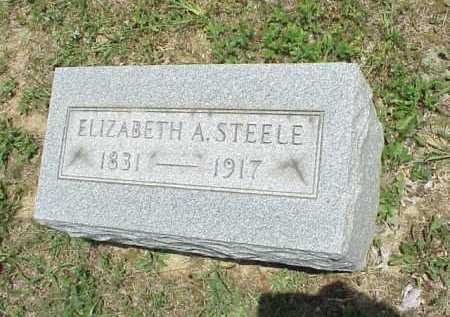 STEELE, ELIZABETH - Meigs County, Ohio | ELIZABETH STEELE - Ohio Gravestone Photos