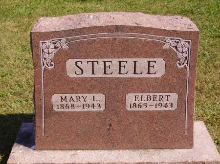 STEELE, ELBERT - Meigs County, Ohio | ELBERT STEELE - Ohio Gravestone Photos