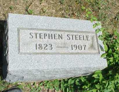 STEELE, STEPHEN - Meigs County, Ohio | STEPHEN STEELE - Ohio Gravestone Photos