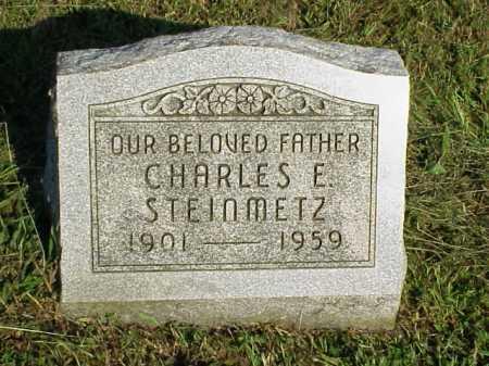 STEINMETZ, CHARLES E. - Meigs County, Ohio | CHARLES E. STEINMETZ - Ohio Gravestone Photos