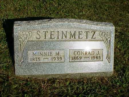 STEINMETZ, CONRAD J. - Meigs County, Ohio | CONRAD J. STEINMETZ - Ohio Gravestone Photos