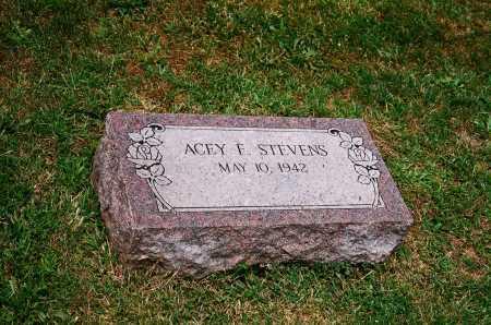 STEVENS, ACEY F. - Meigs County, Ohio | ACEY F. STEVENS - Ohio Gravestone Photos