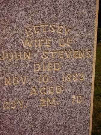 STEVENS, BETSEY - Meigs County, Ohio | BETSEY STEVENS - Ohio Gravestone Photos