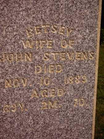 STEVENS, BETSEY - Meigs County, Ohio | BETSEY STEVENS - Ohio Gravestone Photos