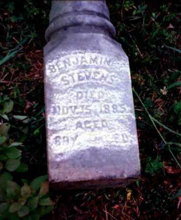 STEVENS, BENJAMIN - Meigs County, Ohio | BENJAMIN STEVENS - Ohio Gravestone Photos