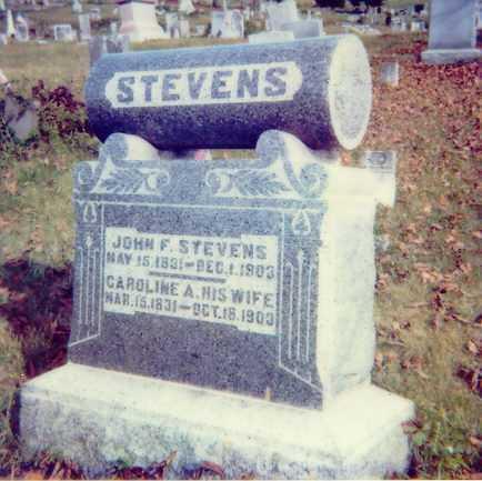 NOBLES STEVENS, CAROLINE A. - Meigs County, Ohio | CAROLINE A. NOBLES STEVENS - Ohio Gravestone Photos