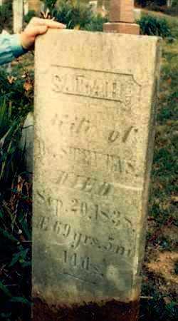 STEVENS, SARAH - Meigs County, Ohio | SARAH STEVENS - Ohio Gravestone Photos