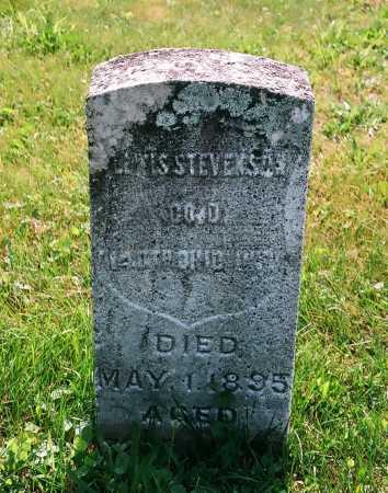 STEVENSON, LEWIS - Meigs County, Ohio   LEWIS STEVENSON - Ohio Gravestone Photos