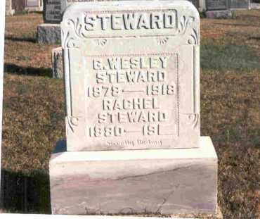 STEWARD, RACHEL - Meigs County, Ohio | RACHEL STEWARD - Ohio Gravestone Photos