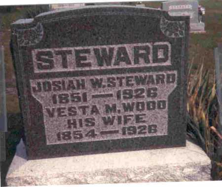 STEWARD, VESTA M. - Meigs County, Ohio | VESTA M. STEWARD - Ohio Gravestone Photos