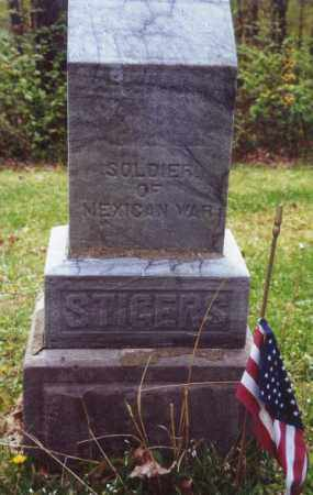 STIDGER, GEORGE - Meigs County, Ohio | GEORGE STIDGER - Ohio Gravestone Photos