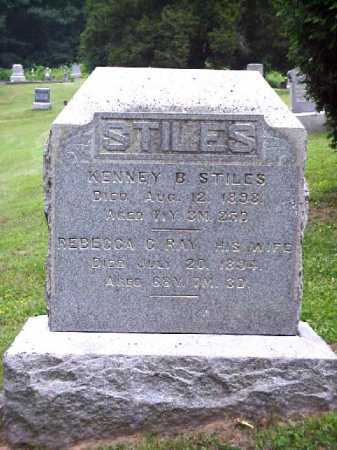 STILES, REBECCA C. - Meigs County, Ohio | REBECCA C. STILES - Ohio Gravestone Photos
