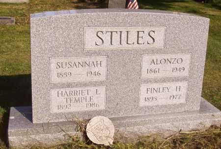 STILES, ALONZO - Meigs County, Ohio | ALONZO STILES - Ohio Gravestone Photos
