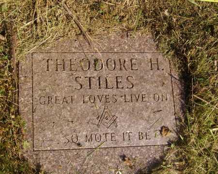 STILES, THEODORE H - Meigs County, Ohio | THEODORE H STILES - Ohio Gravestone Photos