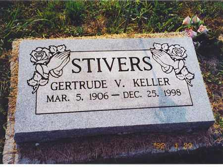 KELLER STIVERS, GERTRUDE V. - Meigs County, Ohio | GERTRUDE V. KELLER STIVERS - Ohio Gravestone Photos