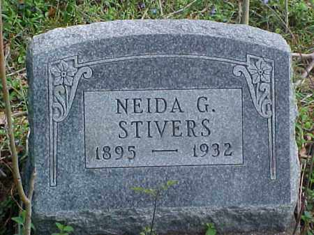 STIVERS, NEIDA G. - Meigs County, Ohio | NEIDA G. STIVERS - Ohio Gravestone Photos