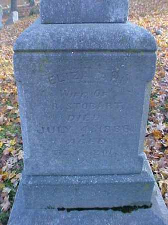 STOBART, ELIZA ANN - Meigs County, Ohio | ELIZA ANN STOBART - Ohio Gravestone Photos