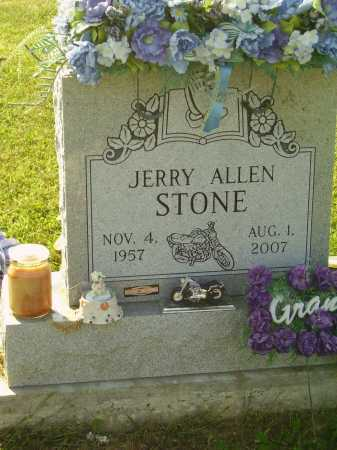 STONE, JERRY ALLEN - Meigs County, Ohio | JERRY ALLEN STONE - Ohio Gravestone Photos