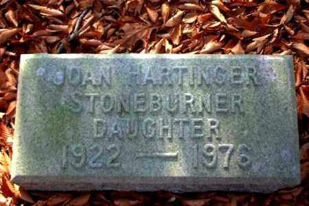 STONEBURNER, JOAN - Meigs County, Ohio | JOAN STONEBURNER - Ohio Gravestone Photos