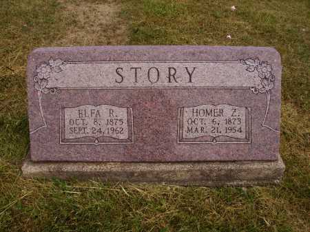 STORY, ELFA R. - Meigs County, Ohio | ELFA R. STORY - Ohio Gravestone Photos