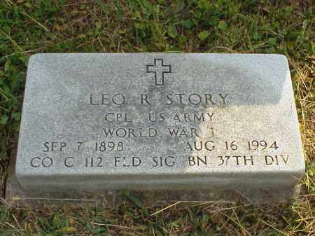STORY, LEO. R. - Meigs County, Ohio | LEO. R. STORY - Ohio Gravestone Photos