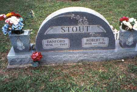 STOUT, DANFORD - Meigs County, Ohio | DANFORD STOUT - Ohio Gravestone Photos