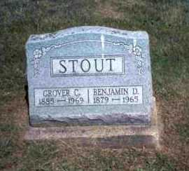 STOUT, BENJAMIN D. - Meigs County, Ohio | BENJAMIN D. STOUT - Ohio Gravestone Photos
