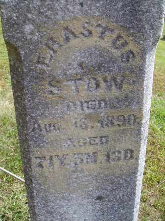 STOW, ERASTUS - CLOSEVIEW - Meigs County, Ohio | ERASTUS - CLOSEVIEW STOW - Ohio Gravestone Photos
