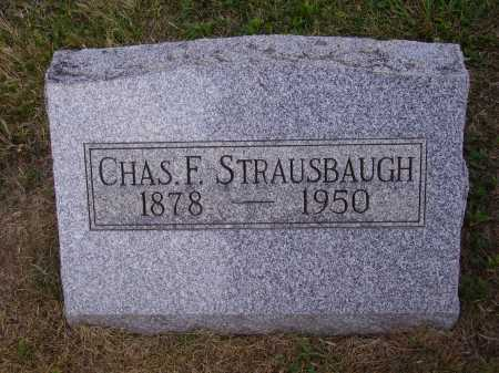 STRAUSBAUGH, CHARLES F. - Meigs County, Ohio | CHARLES F. STRAUSBAUGH - Ohio Gravestone Photos