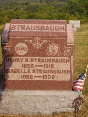 STRAUSBAUGH, HENRY B. - Meigs County, Ohio | HENRY B. STRAUSBAUGH - Ohio Gravestone Photos